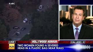 Severed Head, Limbs Found In Hollywood Hills