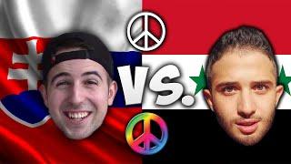 Language Challenge: Syria Vs. Slovakia