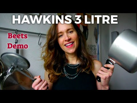 bbc079126 Hawkins 3 liter pressure cooker step by step quick lesson - YouTube