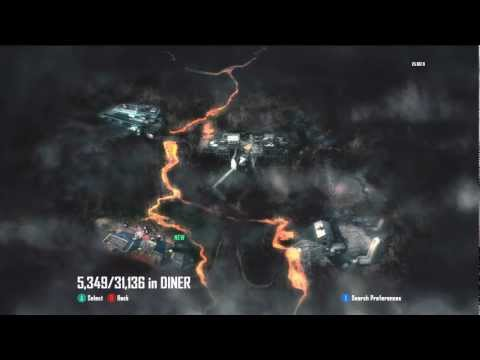 Call Of Duty Black Ops 2 Zombies-Turned On Diner