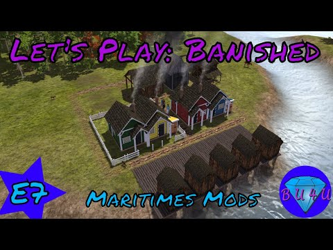 Tools & Fences - Banished | Maritime mods | Let's Play | S1E7