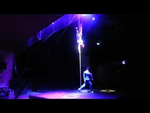 "MJ ""Dangerous"" Live performed by @LeoMoctezuma & #GiuliaPiolanti #MjImmortal"