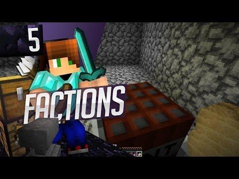 Minecraft: Factions! Ep. 5 - TNT Golf & RAIDED!!!