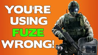 You're Using FUZE Wrong! || Rainbow Six Siege Tips