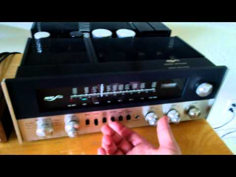 demonstration of the bose 901 series iv 4 speakers with equalizer - youtube