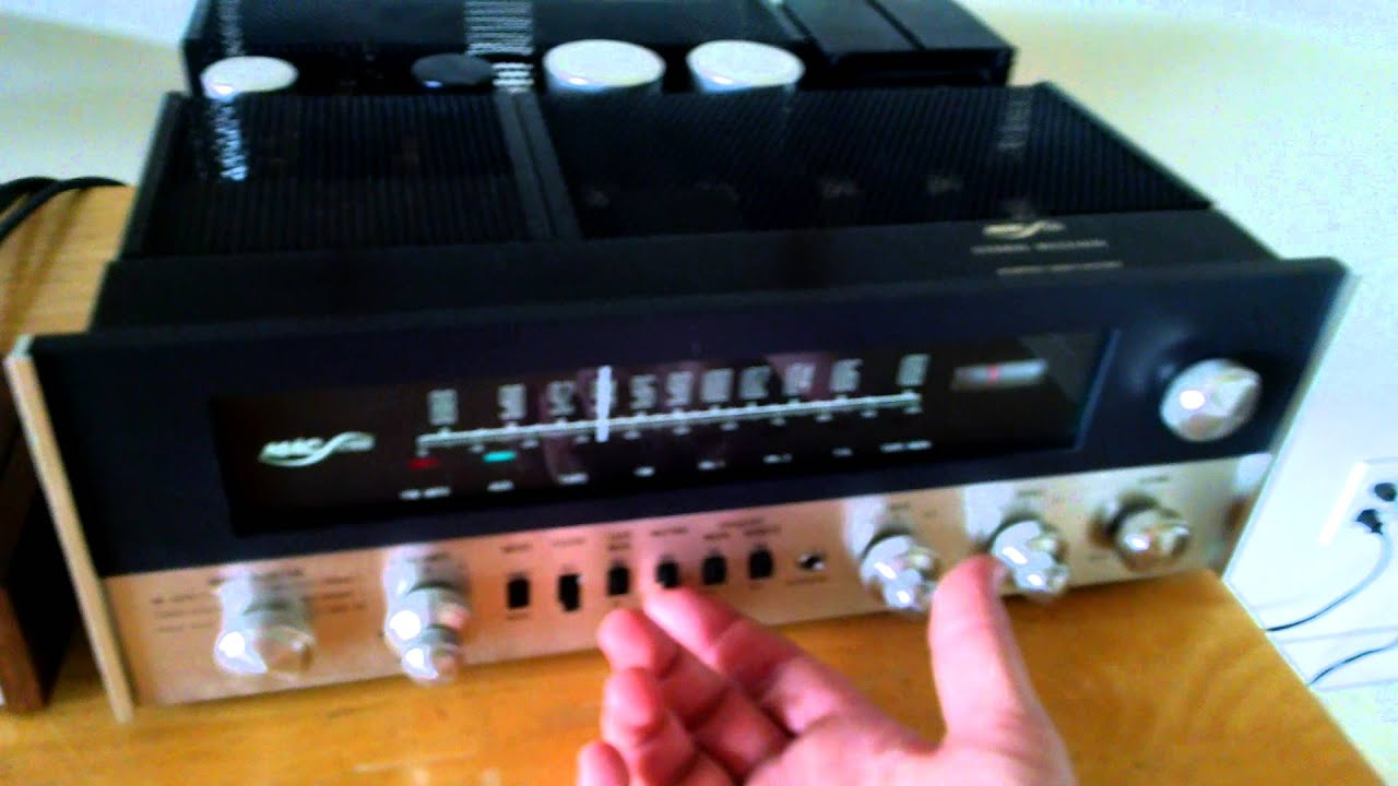 Demonstration Of The Bose 901 Series Iv 4 Speakers With Equalizer Hooking Up Wiring Diagram
