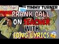 PRANK CALLING MY TEACHER WITH -