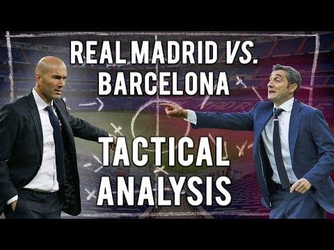 REAL MADRID vs. BARCELONA (El Clasico) 2017/2018 TACTICAL ANALYSIS