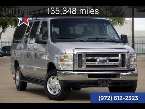 2008 Ford E350 12 Passenger Van XLT Used Cars - Plano,Texas - 2017-06-23