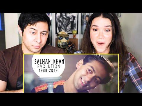 SALMAN KHAN EVOLUTION (1988-2019) | Reaction | Jaby Koay