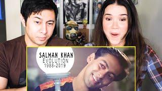 SALMAN KHAN EVOLUTION (1988-2019)   Reaction   Jaby Koay