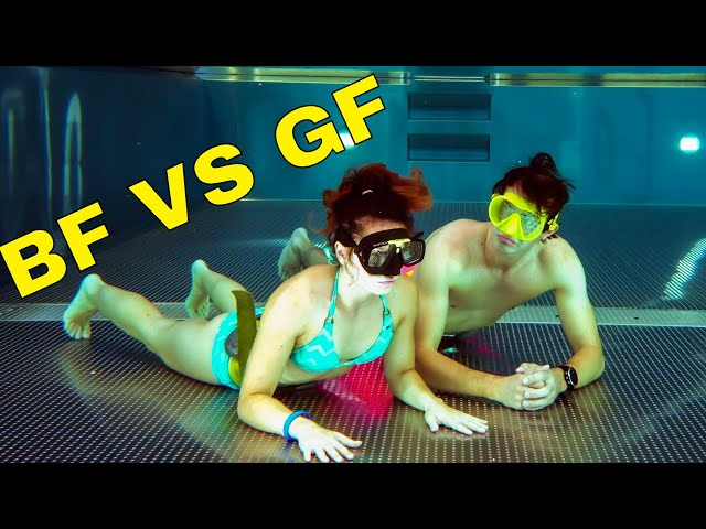 Breath hold underwater BF VS GF