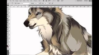 Face the storm - Wolf Speedpaint