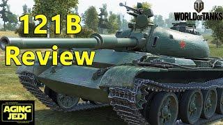 121B Review - Clan Wars Reward Tank - World of Tanks
