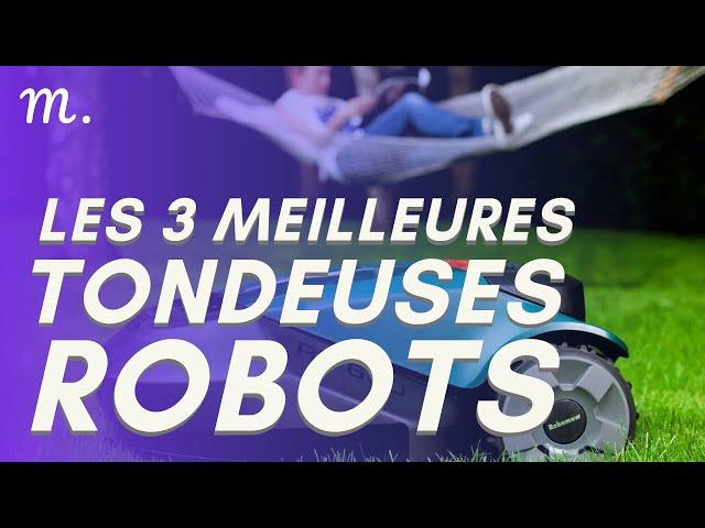 🥇TOP 3 TONDEUSES ROBOTS (2020)