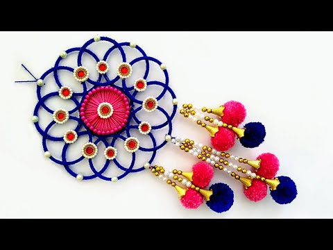 beautiful-wall-hanging-for-home-decoration-|-easy-craft-out-of-waste