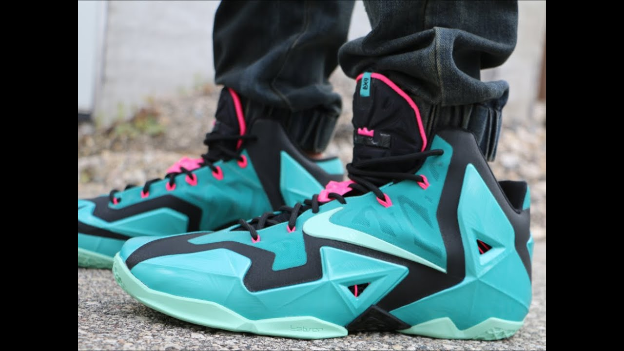 differently 40c4d 79284 Nike LeBron 11 South Beach - On Foot