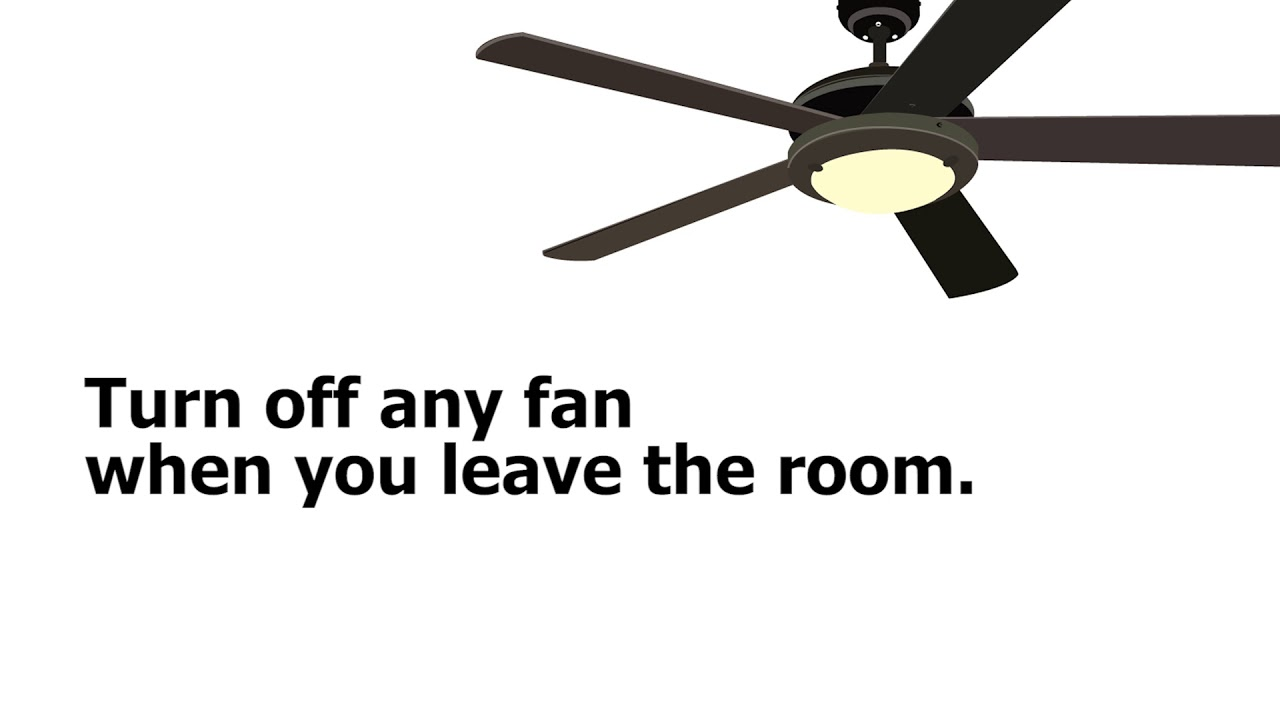 Ceiling Fans Can Help Lower Your
