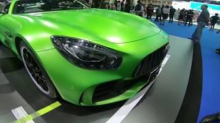 Top Luxury Car Mercedes Benz Cars Motor Show 2018 Bangkok in Thailand