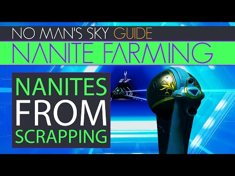 Ultimate Nanite Farming System With Double Exotic Ship Scrapping In No Man's Sky   NMS Guide Xaine