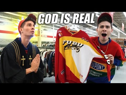 Trip to the Thrift #155 | HOLY FUBU FLAME! OG CHAMPION GEAR, Hockey Jerseys, and Mo!