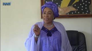 Wife of Presidential Aspirant canvasses for voters' education