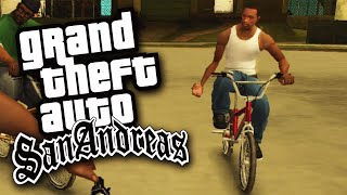 NUR GANGSTER FAHREN FAHRRAD!   GTA: San Andreas