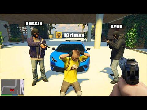 YOUTUBER ÜBERFALLEN das Haus von iCrimax in GTA 5 RP