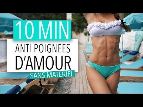 10MIN ABDOS : EXTERMINER LES POIGNEES D'AMOUR !!!
