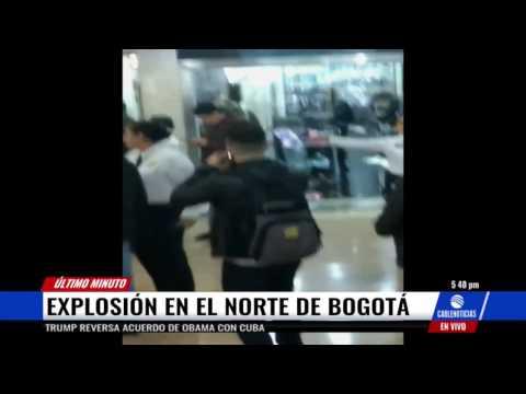 Reportan explosión en el Centro Comercial Andino en Bogotá