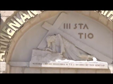 Via Dolorosa: The Stations of the Cross in Jerusalem; The Pa
