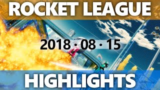Rocket League Highlights 2018 08 15