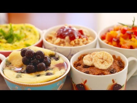 Microwave Mug Breakfasts for Back to School: 5 Sweet & Savory Recipes - Gemma's Bigger Bolder Baking