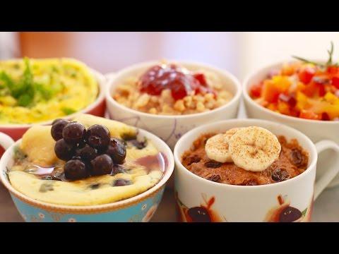 Microwave Mug Breakfasts for Back to School: 5 Sweet & Savory Recipes - Gemma's Bigger Bolder Baking