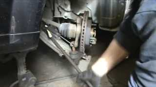 Chevrolet lacetti. Замена переднего ступичного подшипника.