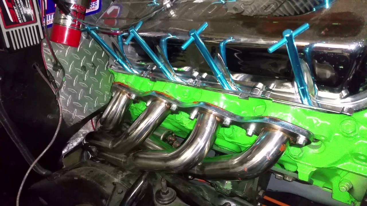 Big block s10 headers