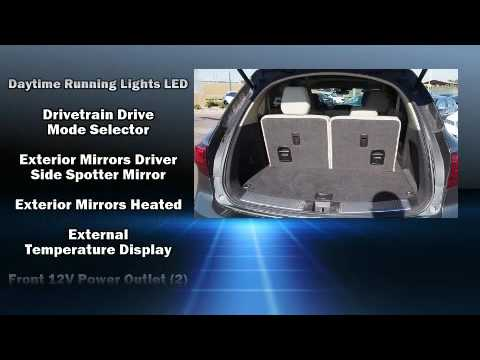 2016 acura mdx mdx with technology package youtube. Black Bedroom Furniture Sets. Home Design Ideas