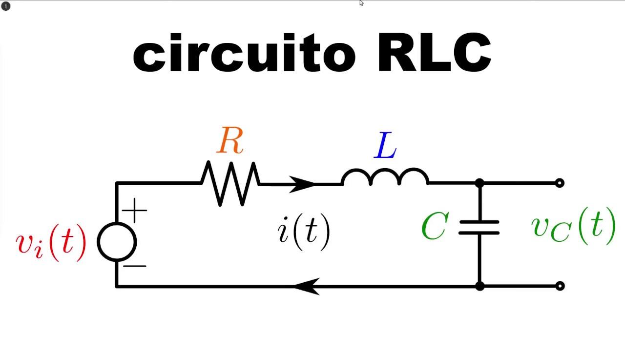 Circuito Lc : Circuito rlc en serie ecuación diferencial y función de