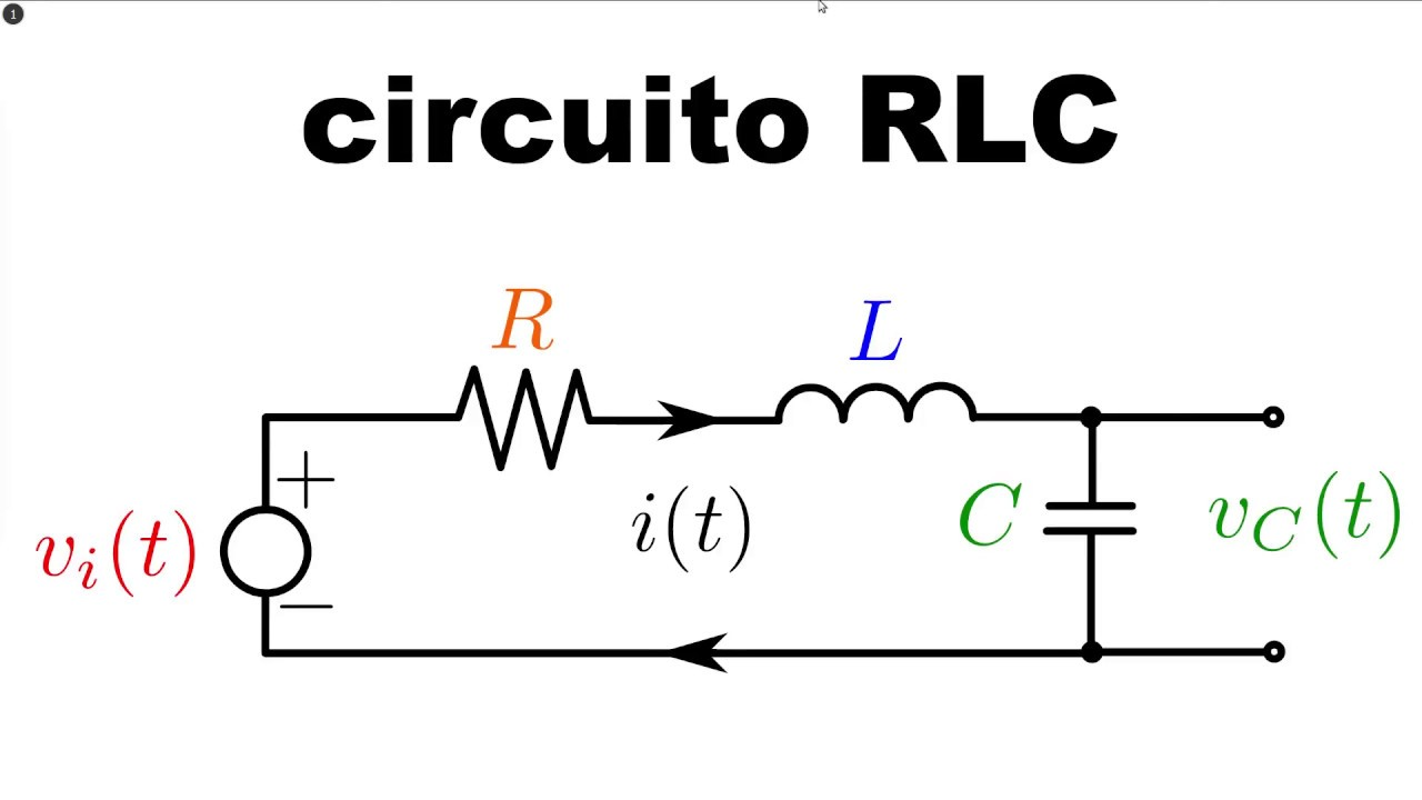 02 07 circuito rlc en serie  ecuaci u00f3n diferencial y funci u00f3n de transferencia