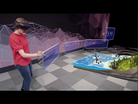 HoloLens 2 AR Headset: On Stage Live Demonstration