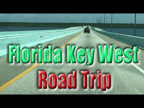 Driving to Key West Florida - Road Trip