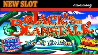 *NEW SLOT* Jack and the Beanstalk Slot - Slot Bonus - Slot Machine Bonus