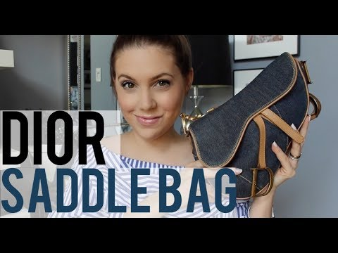 WHAT'S IN MY DIOR SADDLE BAG | MELSOLDERA