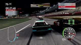 NASCAR 14 Career Mode Race 12 Charlotte Night Coke 600 Gameplay