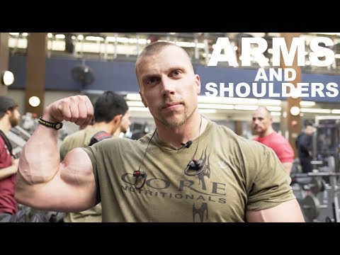 Mind & Muscle: Doug Miller Takes You Through Arms & Shoulders!