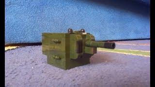 самодельный лего танк