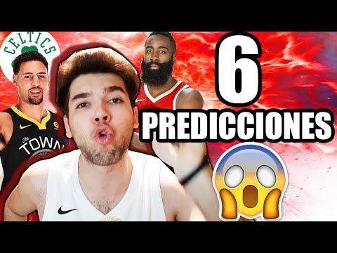 6 PREDICCIONES DE LA NBA Y ACTUALIDAD