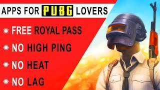 Best Apps For Pubg Mobile   No High Ping   No Lag   No Heat   Free Royal Pass