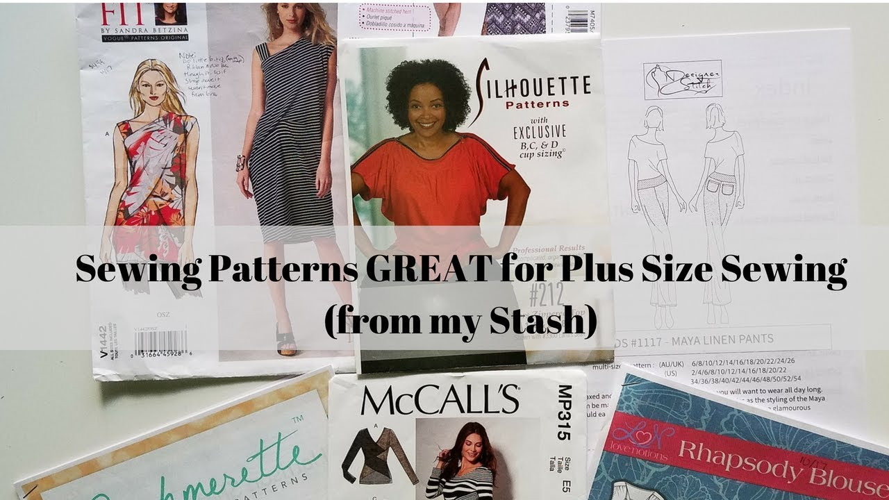 251]Sewing|Sewing Patterns GREAT for Plus Size Sewing - YouTube