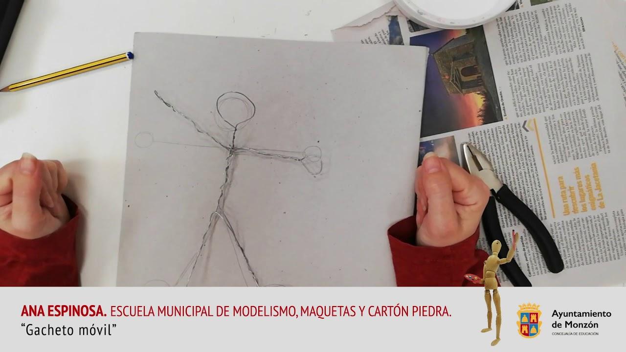 """""""Gacheto móvil"""", con Ana Espinosa, de la Escuela Municipal de Modelismo de Monzón"""